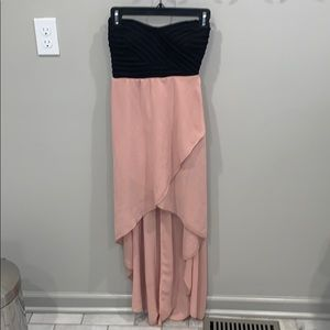 Strapless Aline dress size Small
